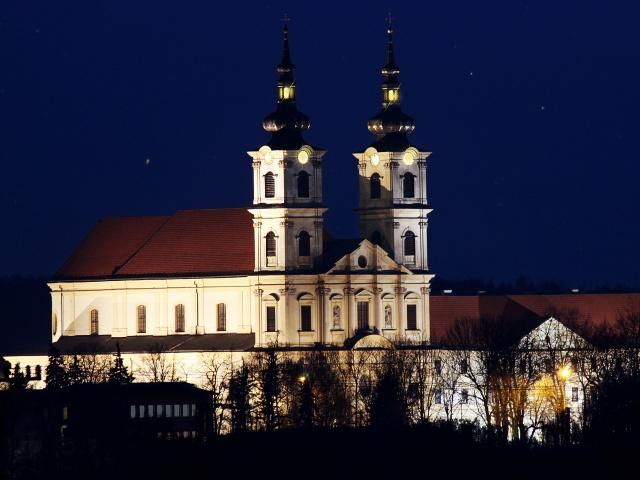 Bratislava Monastery And Church Of The Virgin Mary Seven